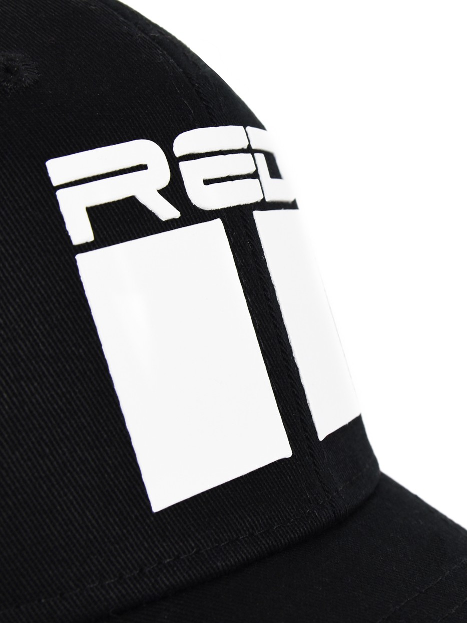 DOUBLE RED Airtech Mesh 3D Logo Cap Black