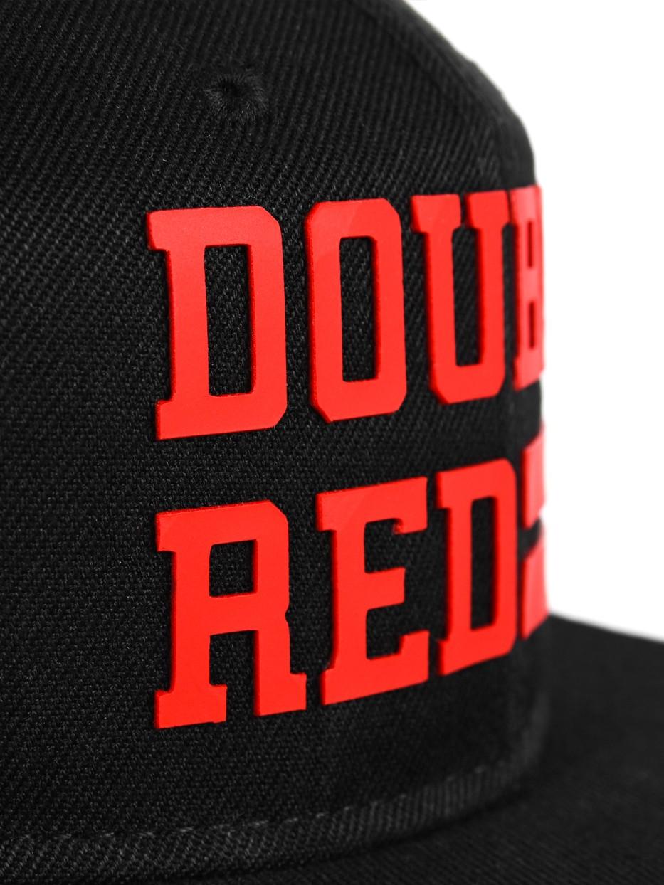 Snapback Cap UNIVERSITY OF RED Black/Red