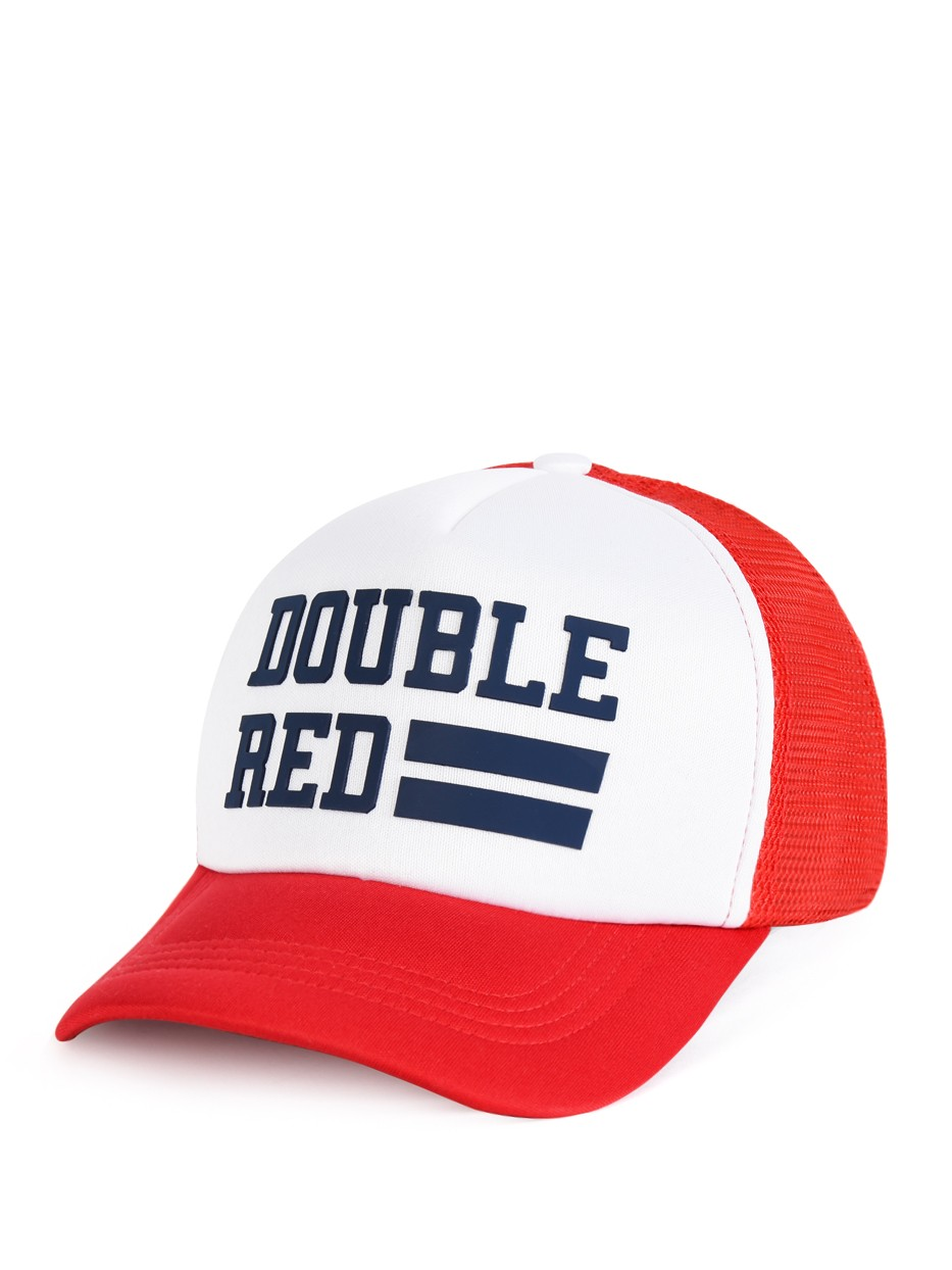 Snapback Cap UNIVERSITY OF RED Red/White