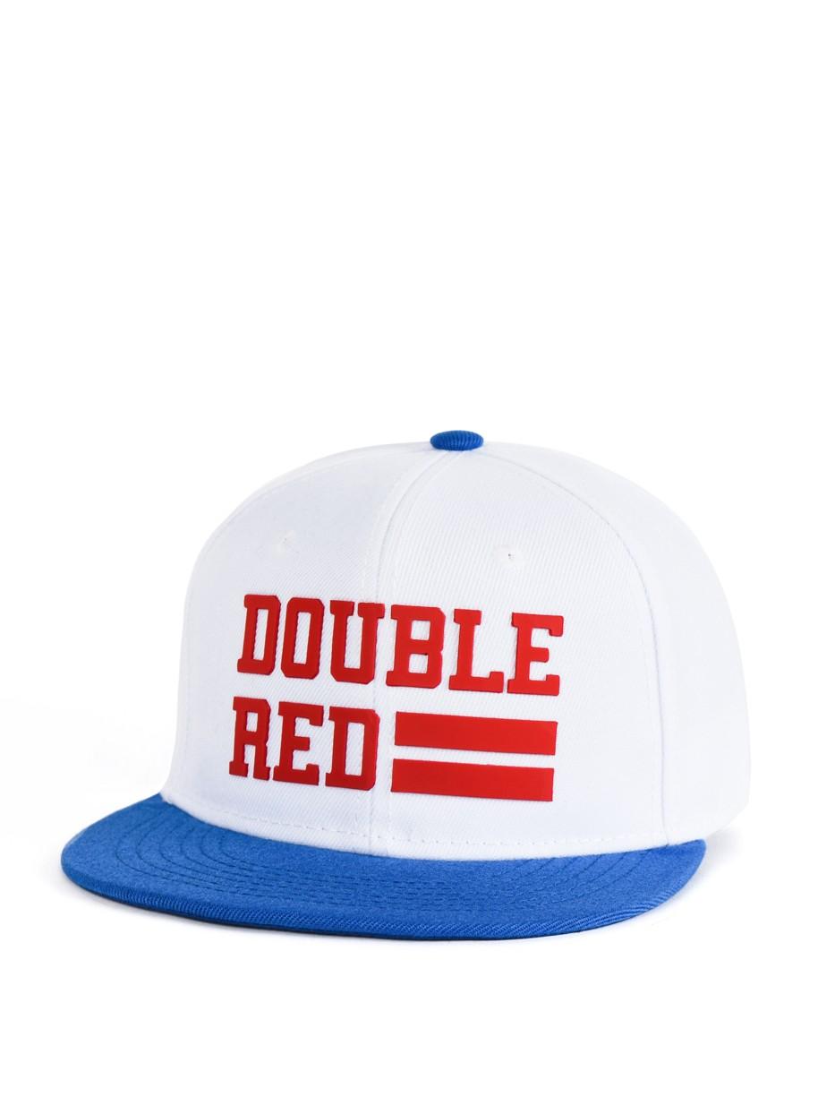 Snapback Cap UNIVERSITY OF RED White/Blue