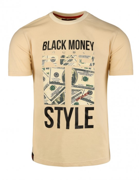 Black Money Red Style T-Shirt Army