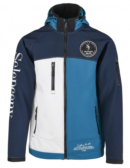 SEAMAN LIMITED EDITION YACHTING 100% SOFTSHELL JACKET