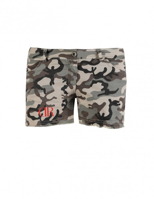 Limited Green Camo Shorts