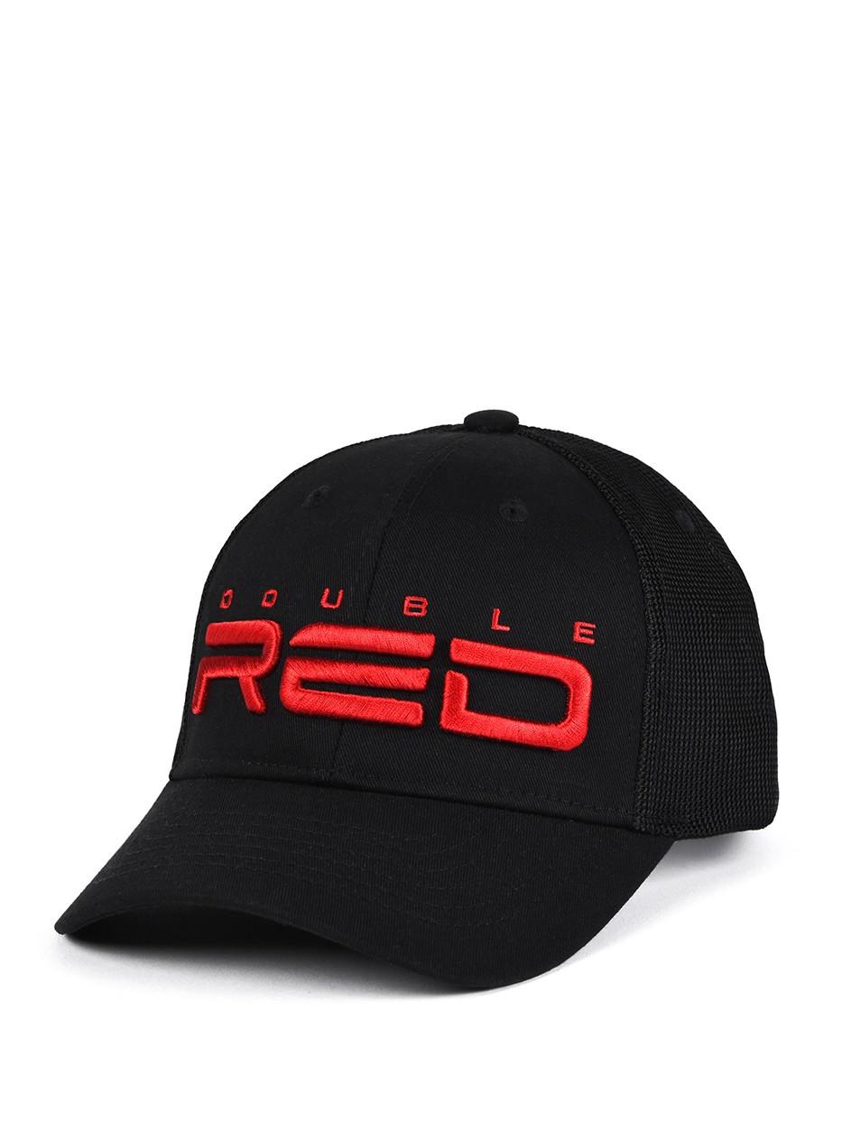 DOUBLE RED Airtech Mesh Cap Black