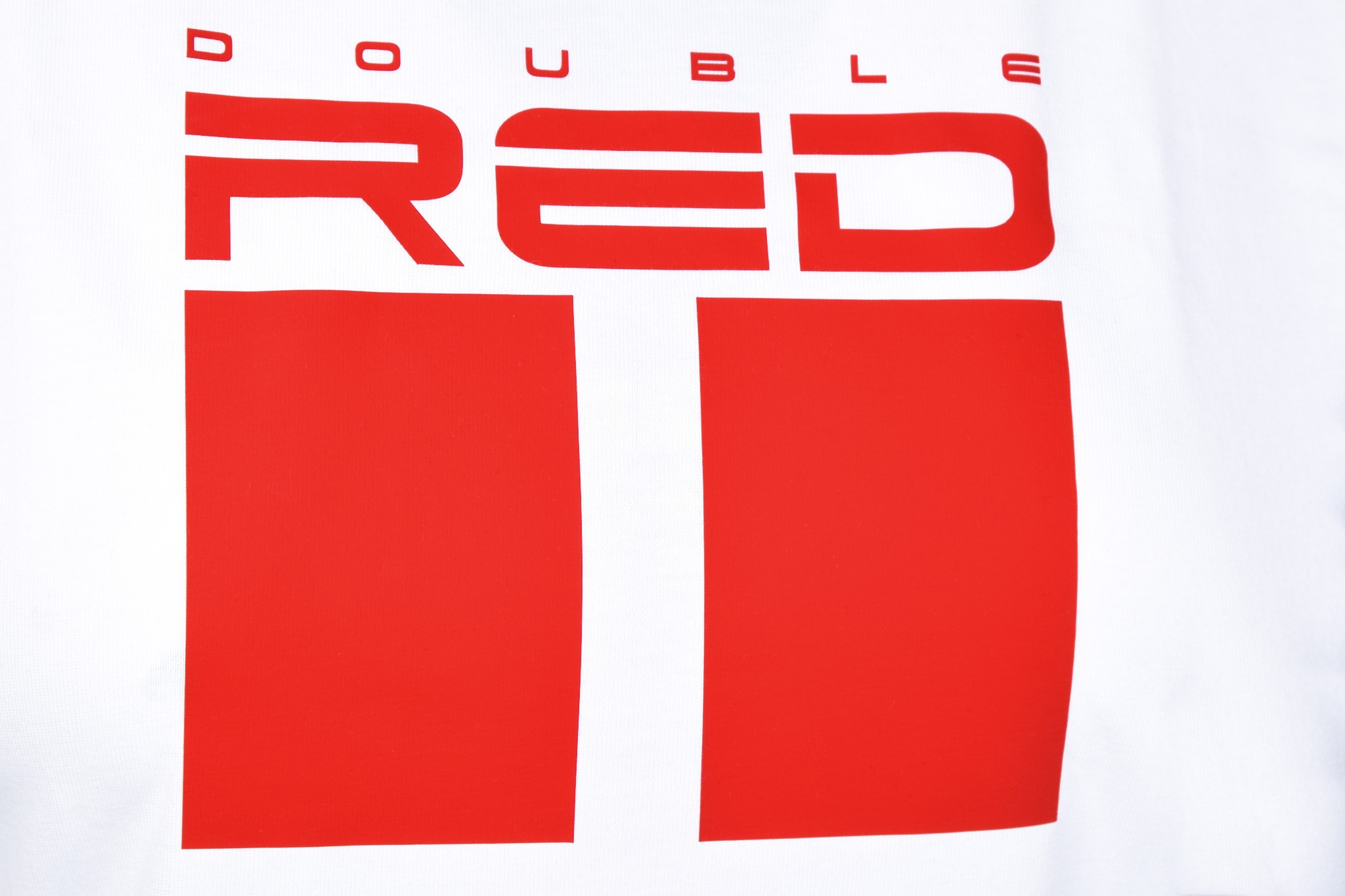 DR W T-shirt All Logo White