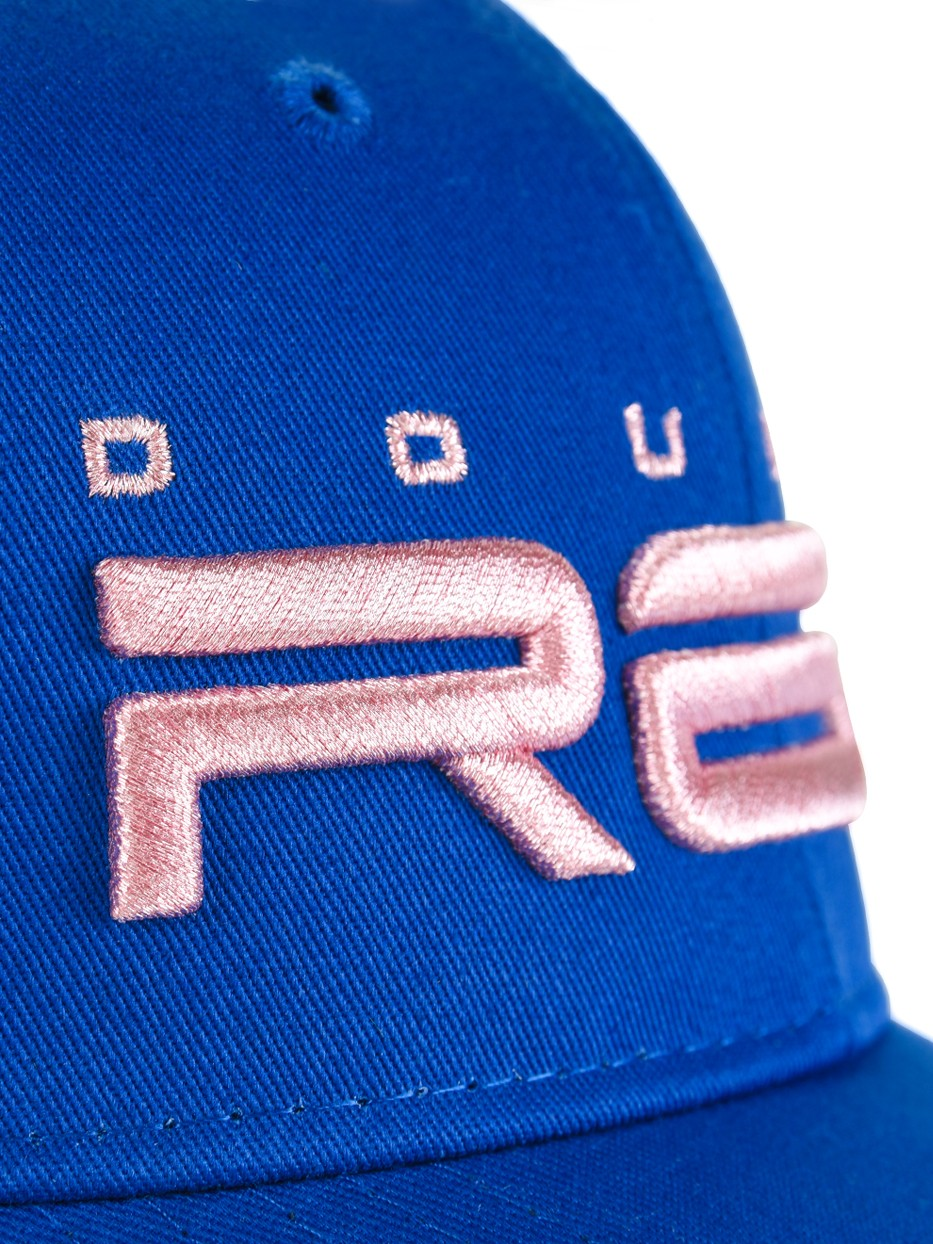 All Logo Metals Cap Pink