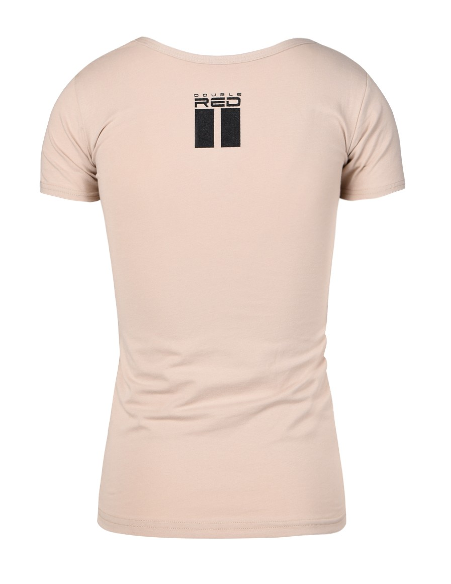 T-shirt ALL LOGO Basic Sand