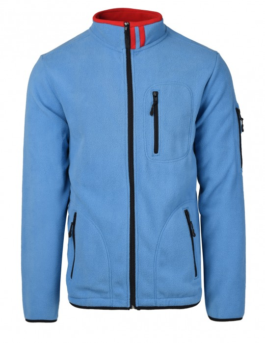 Men's Fleece Jacket Blue