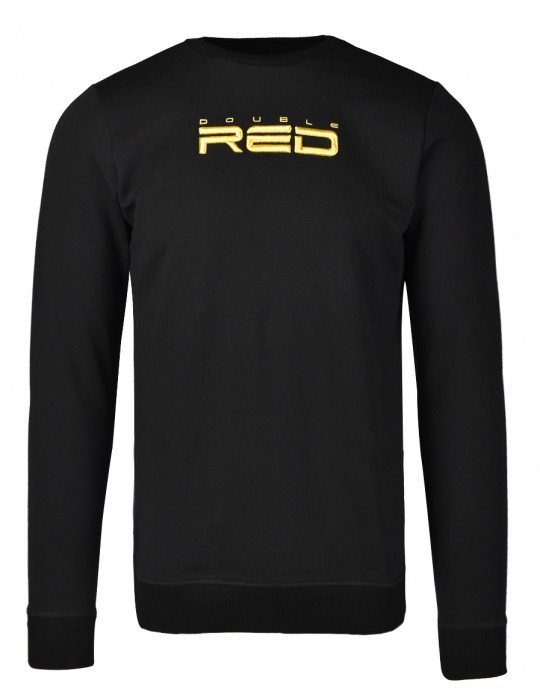 ELEGANCE All logo Metals Sweatshirt Goldforever