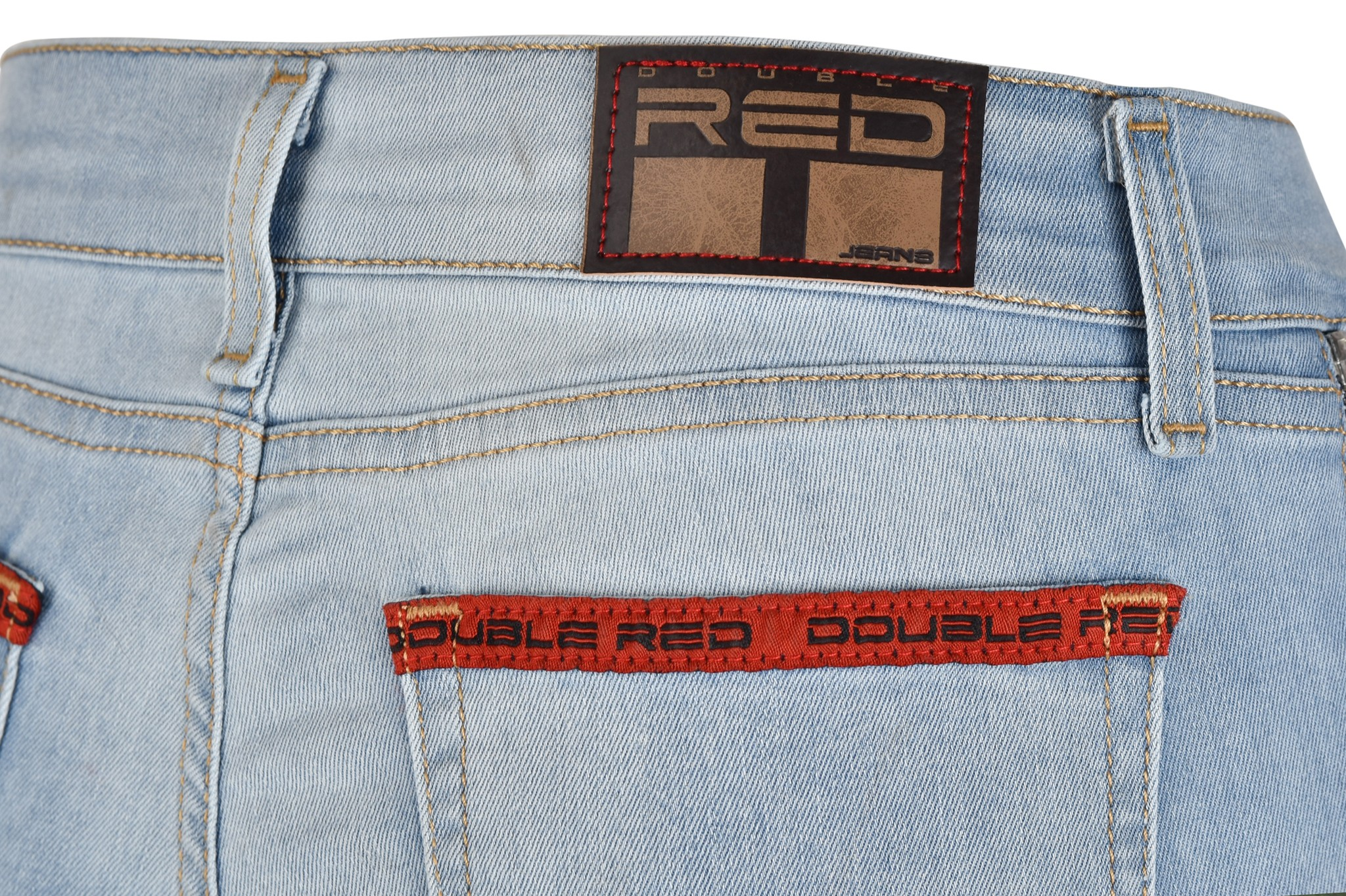 RED Zipper Jeans Collection