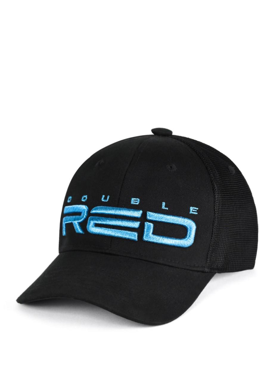 All Logo Metals Cap Blue