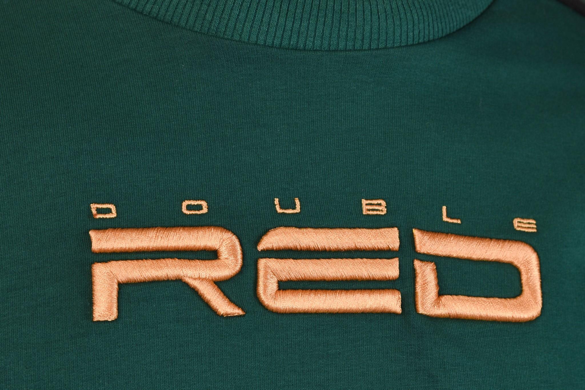ELEGANCE All logo Sweatshirt Green/Orange