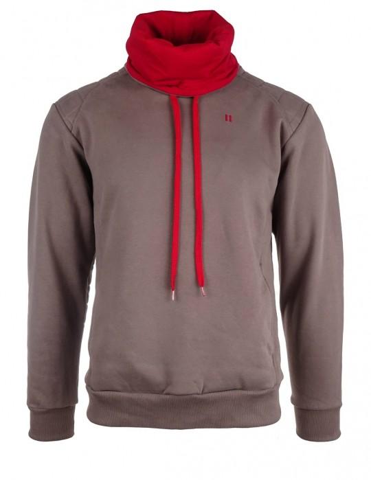Beige sweatshirt WARRIOR