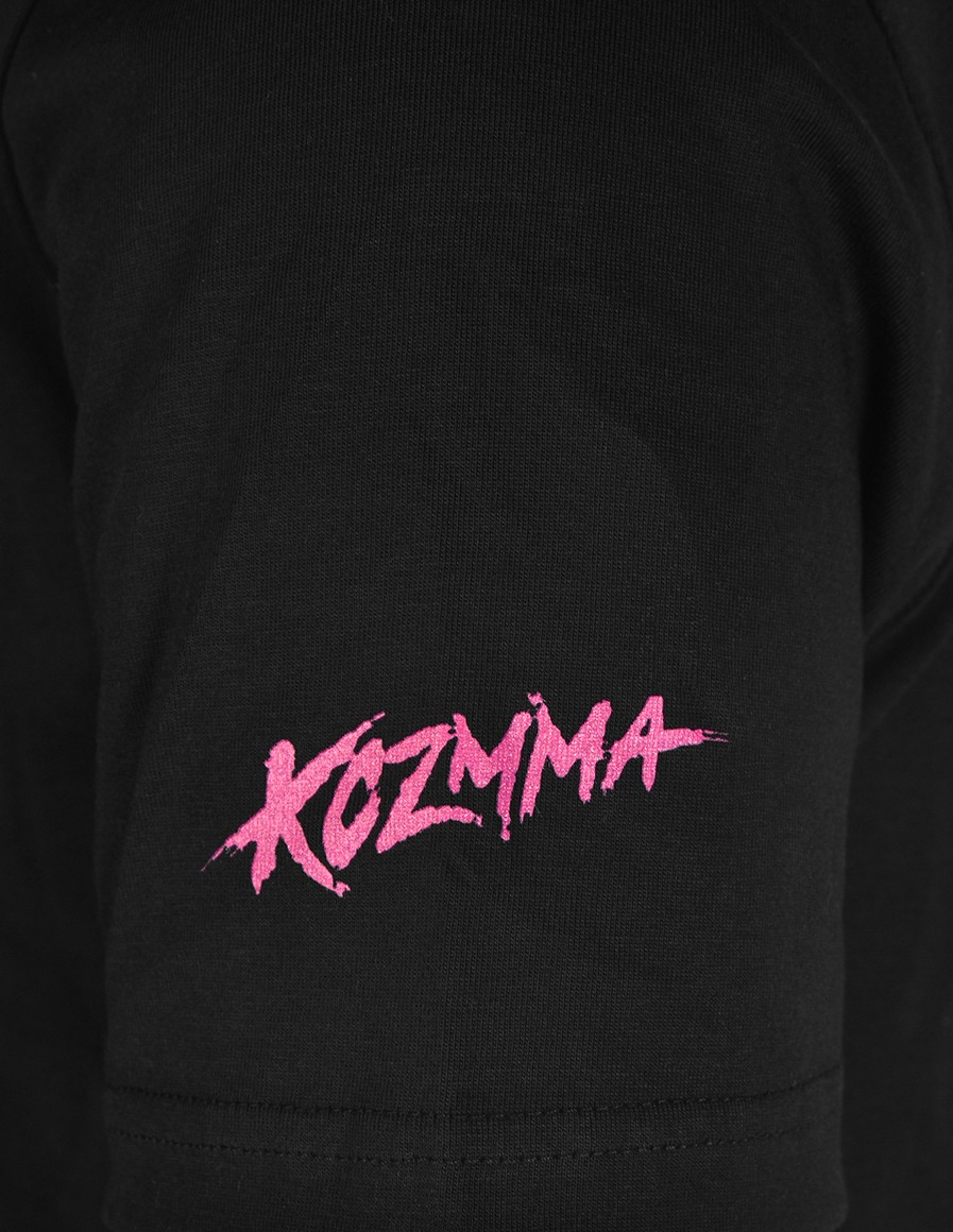 Limited Edition KOZMA Pink Panther T-shirt Black