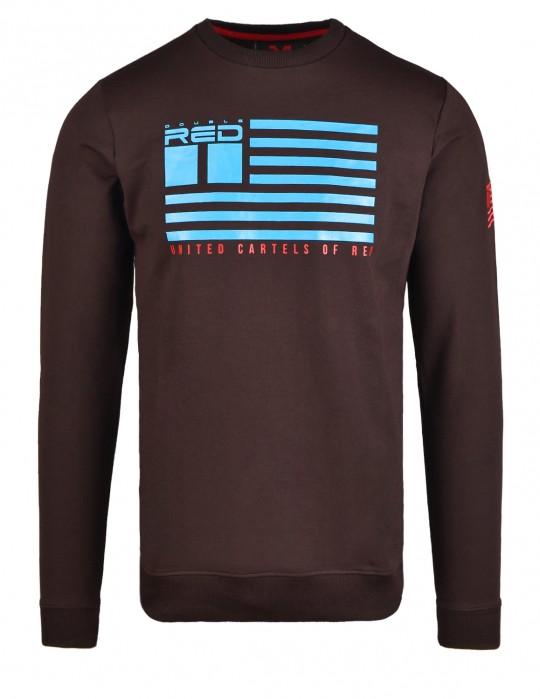 United Cartels Of Red UCR Brown Sweatshirt