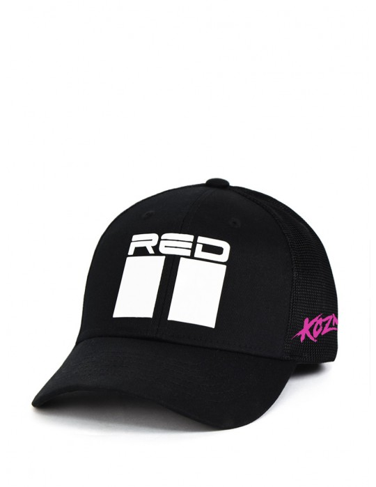 Limited Edition KOZMA Pink Panther Cap Black