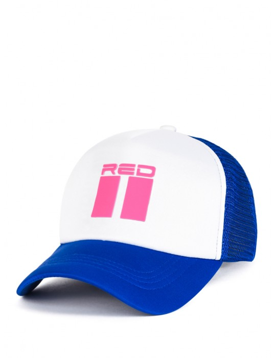 Summer Vibes NEON Cap Blue/White