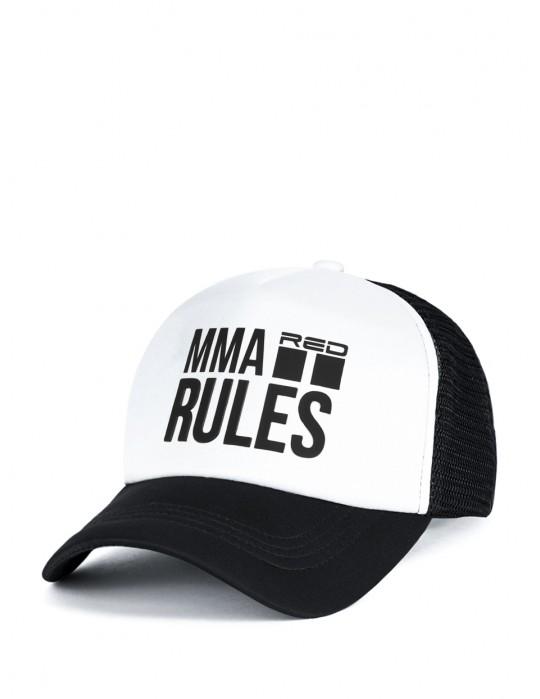 MMA RULES Black Cap