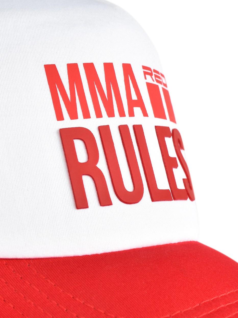 MMA RULES Red Cap