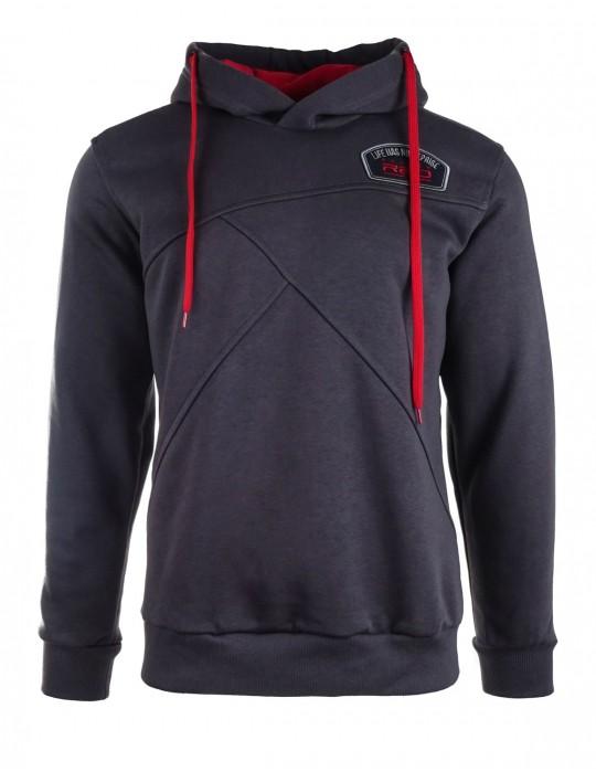 Grey hoodie LHNR