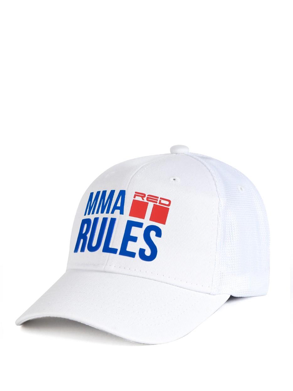 MMA RULES White Cap