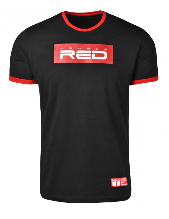 T-Shirt LOGO VISION Black/Red