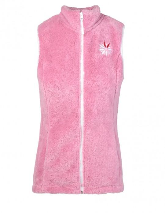 Fleece Vest Pink