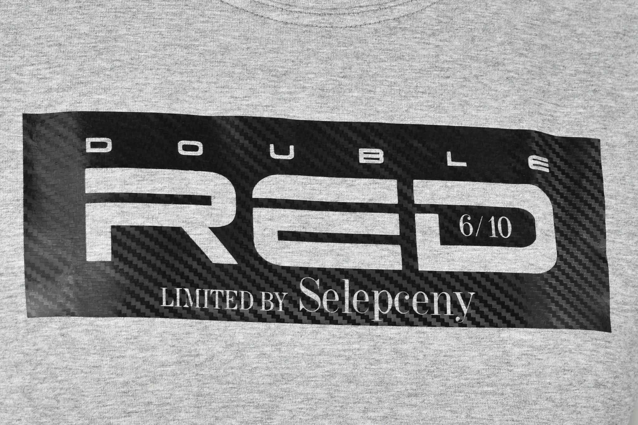 CARBON Limited by Selepceny T-shirt Grey