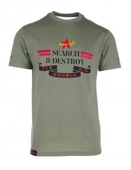 Green T-shirt Search & Destroy