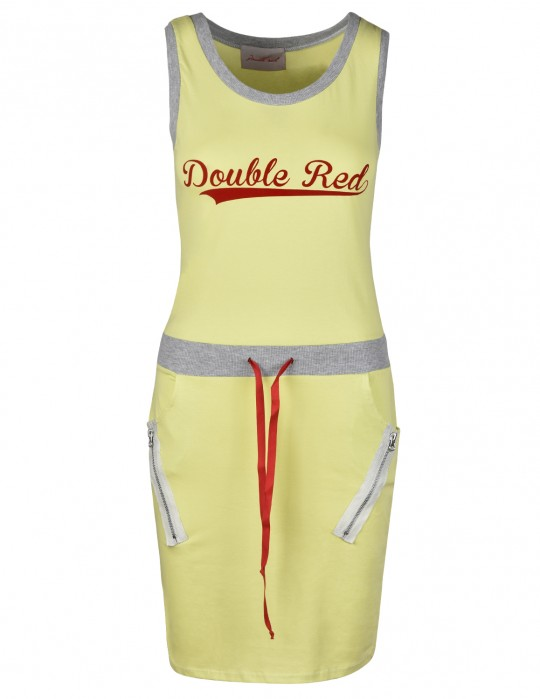 Street Babe Sports Dress Yellow