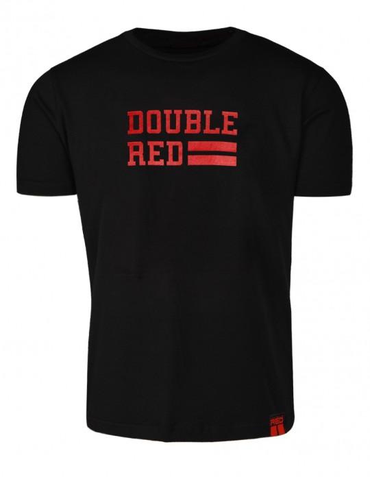 T-Shirt UNIVERSITY OF RED Black
