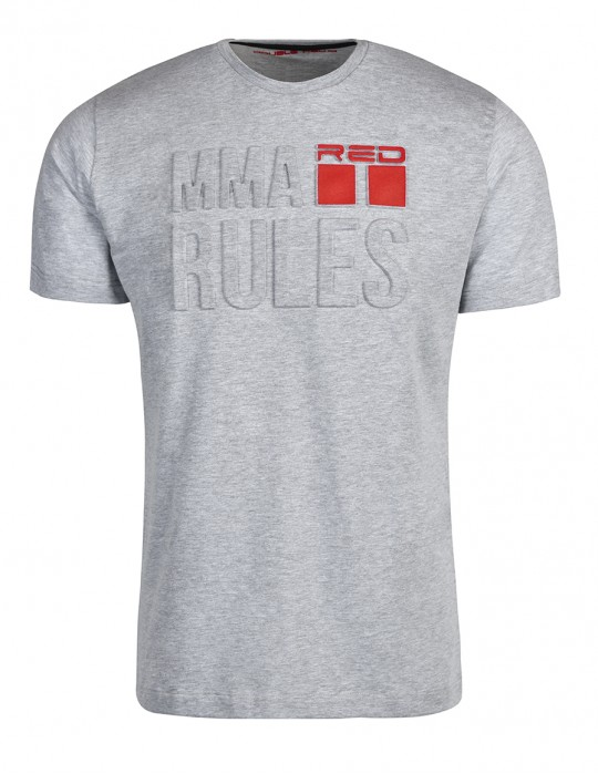 T-Shirt MMA RULES White