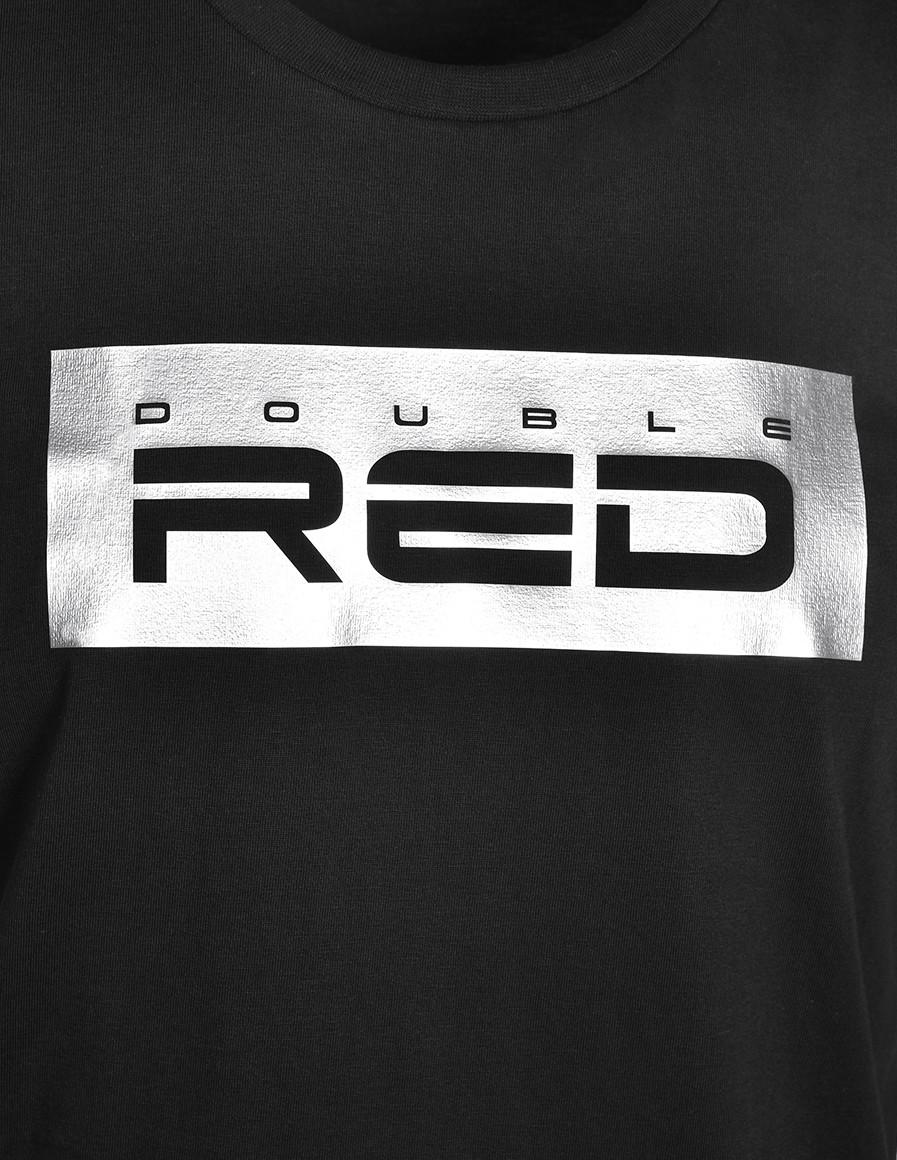 T-Shirt SILVER Black Basic