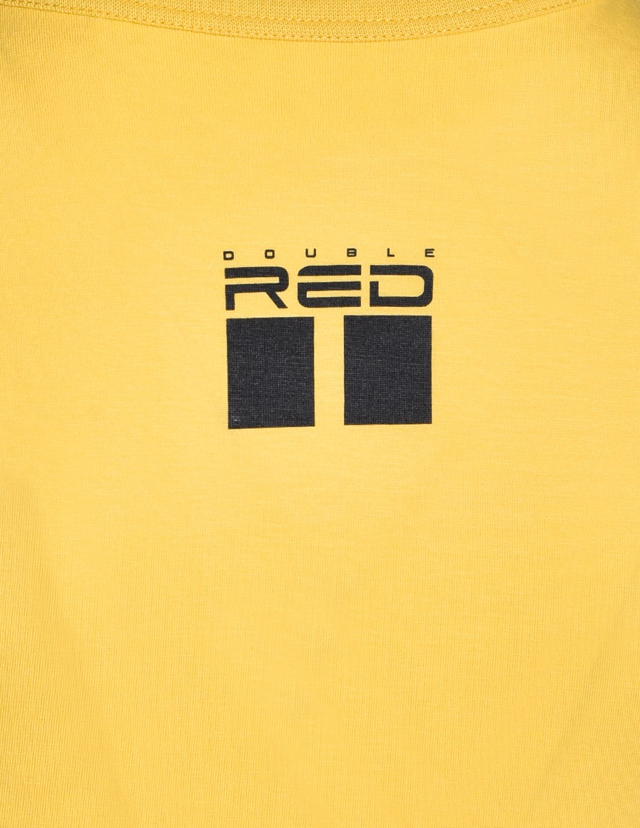DOUBLE RED Trademark T-shirt Yellow