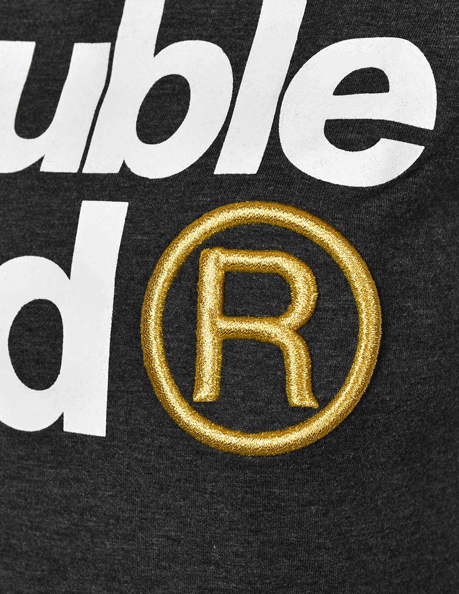 T-Shirt GOLD FABULOUS Dark Grey