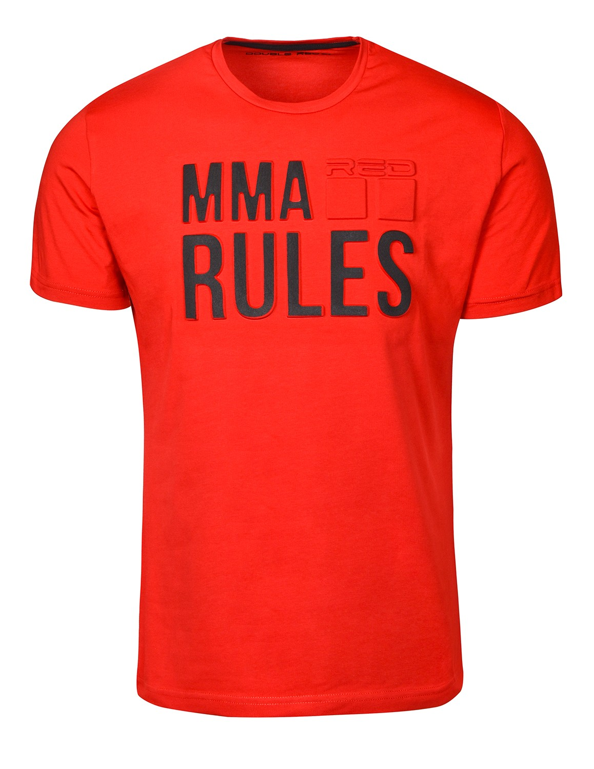 T-Shirt MMA RULES Red