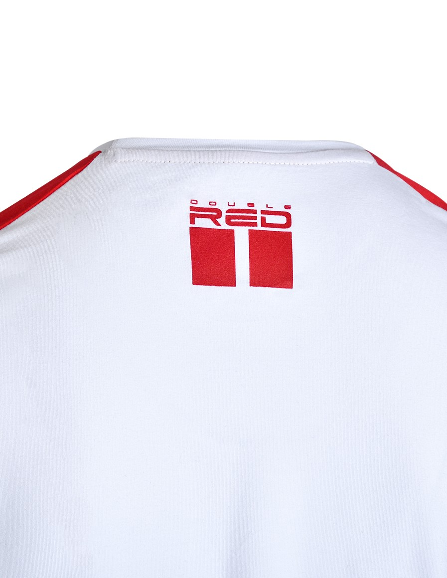 T-Shirt MMA RULES Red/White