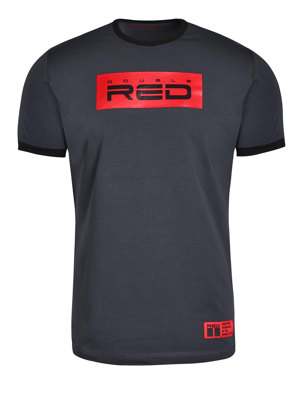 T-Shirt LOGO VISION Grey/Black