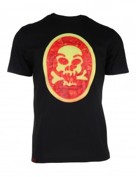 Black T-shirt SKULL
