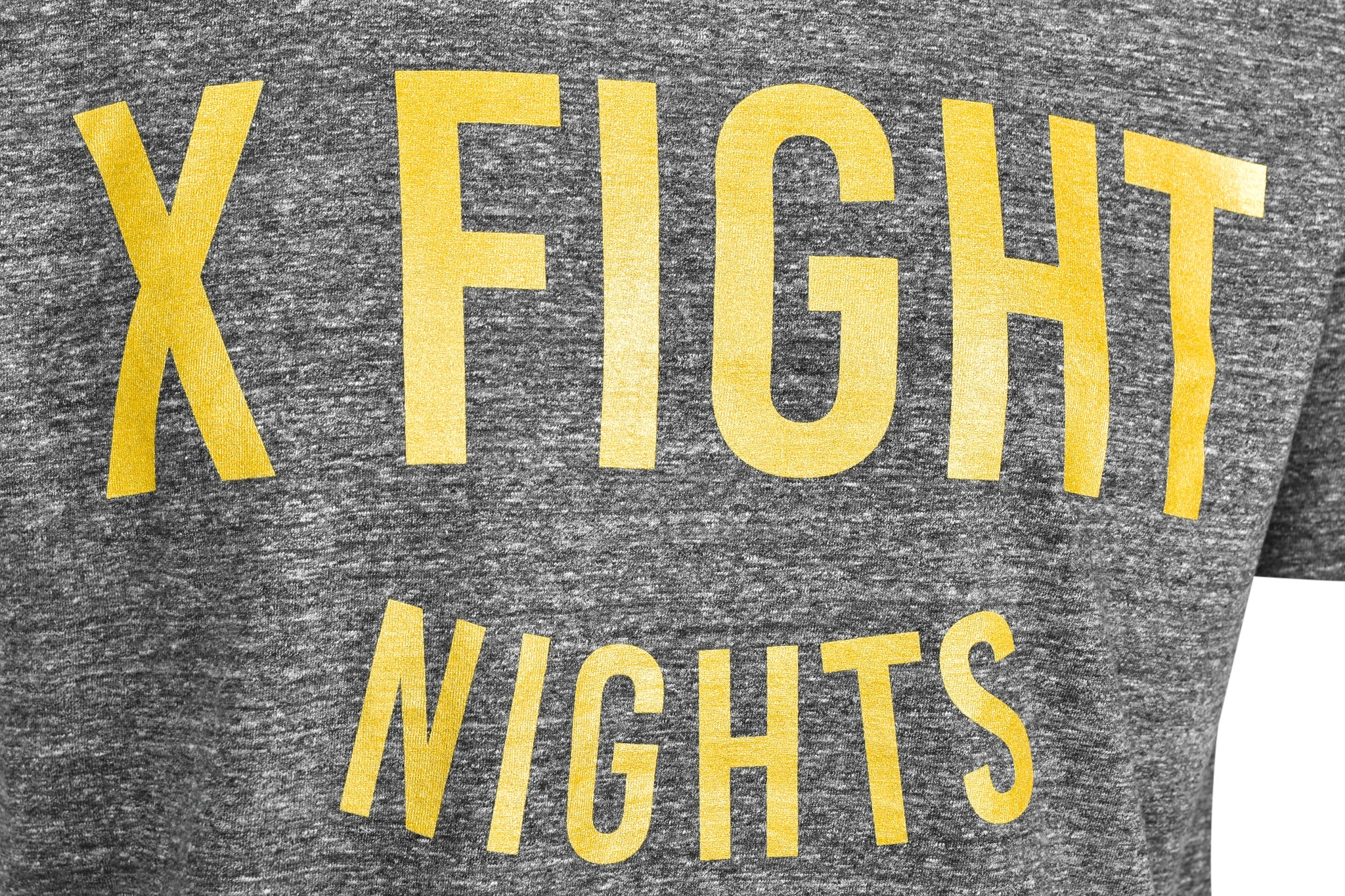 T-Shirt X FIGHT & DOUBLE RED Cooperation Goldforever