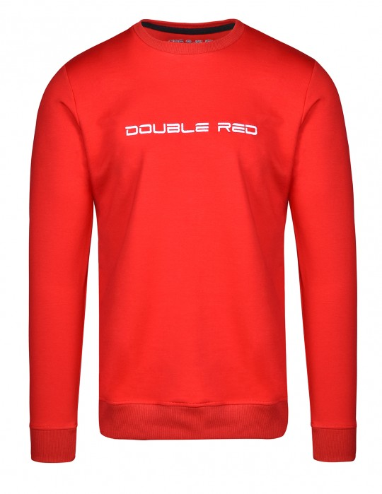 ELEGANCE Red/White Sweatshirt