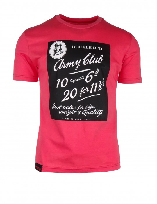 Salmon pink T-shirt Army Club