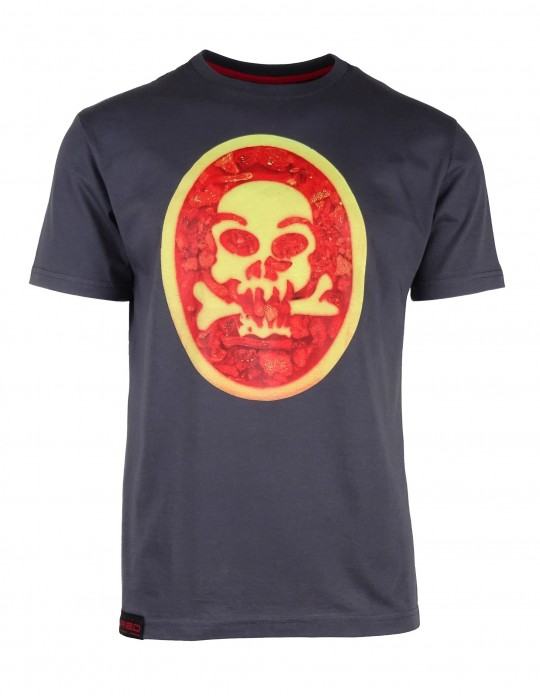 Grey T-shirt SKULL