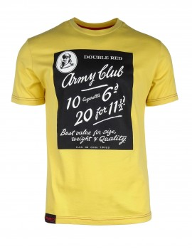 Yellow T-shirt Army Club