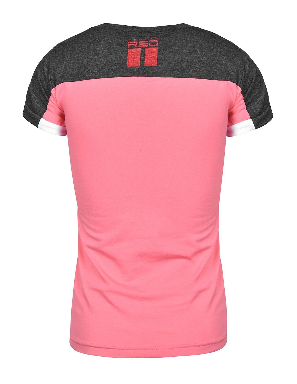 T-shirt GLORIOUS Grey/Pink