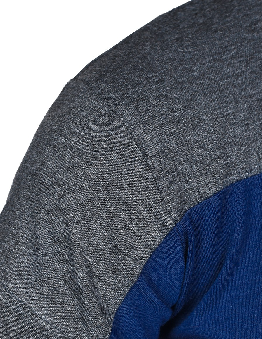 T-shirt GLORIOUS Grey/Navy