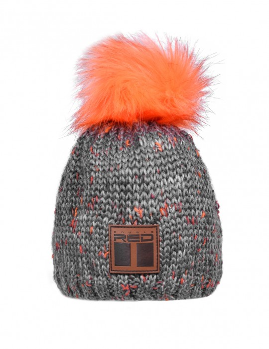 ZERMATT Orange/Grey Cap