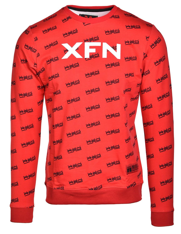 Sweatshirt XFN Fighters Club/DOUBLE RED Full Logo Red