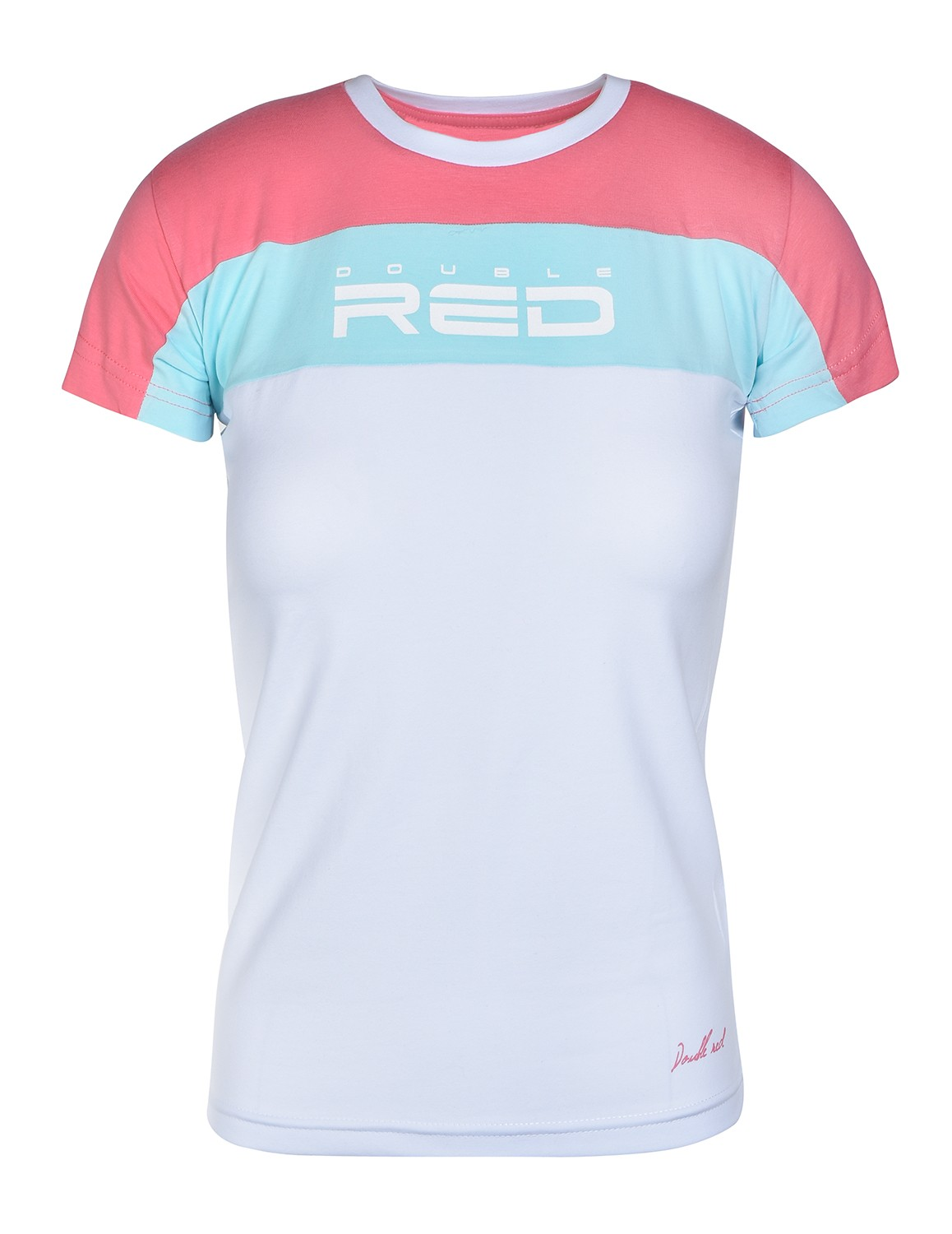 T-Shirt OUTSTANDING Pink/White