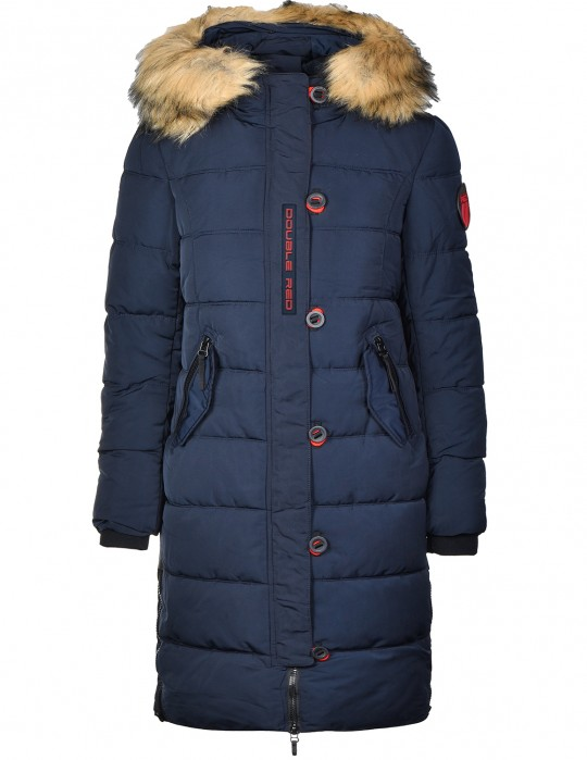 RED EXPLORER Parka Dark Blue